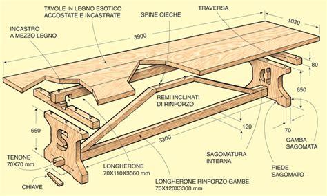 costruire un tavolo da cucina in legno awesome costruire un tavolo da cucina in legno