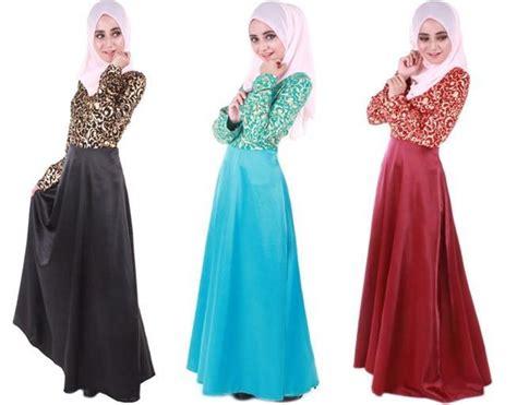 Maxi Dressdress Satindress Printingbaju Hijabbaju Muslim Wanita 1 rumahminimalismodern 2016 baju dress muslimah images