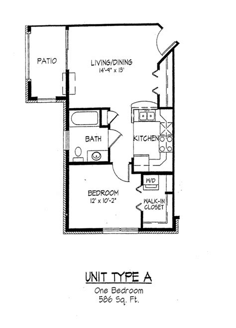 Madison Wi 1 Bedroom Apartments Cortland Commons Floor Plans Rouse Management