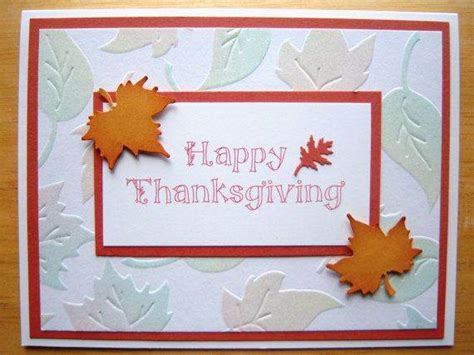 how to make thanksgiving cards different ideas for thanksgiving cards family