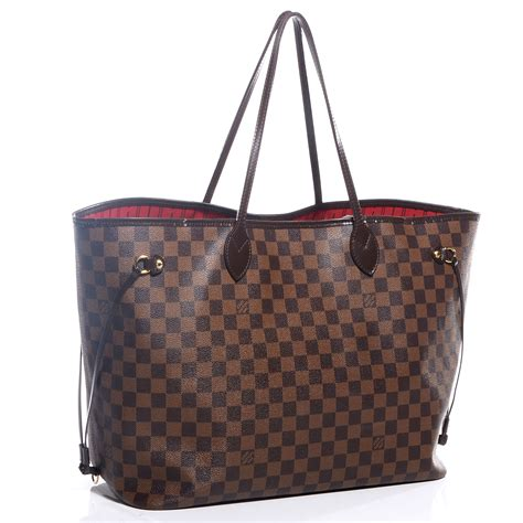 Neverfull Damiere louis vuitton damier ebene neverfull gm 70698