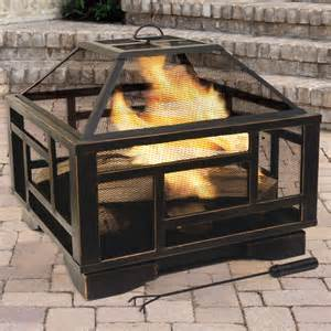 Wood Burning Firepits Pleasant Hearth Solus Wood Burning Pit Reviews Wayfair