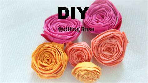 paper craft how to make paper quilling easy