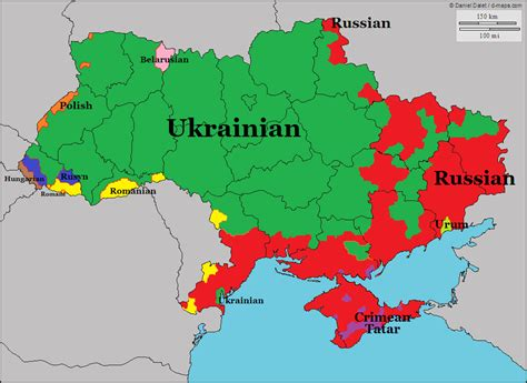 russia linguistic map languages of ukraine maps ukraine