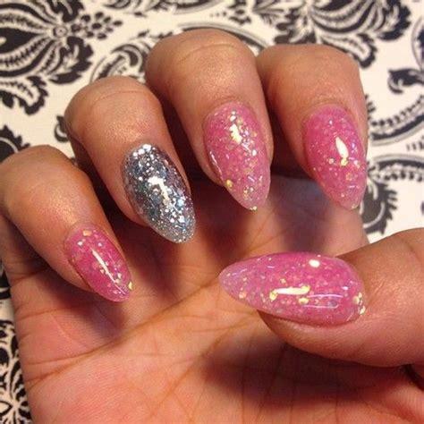 pink glitter acrylic nail designs pink glitter acrylic nails nail designs pinterest