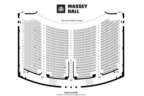 massey theatre seating chart massey floor plan meze