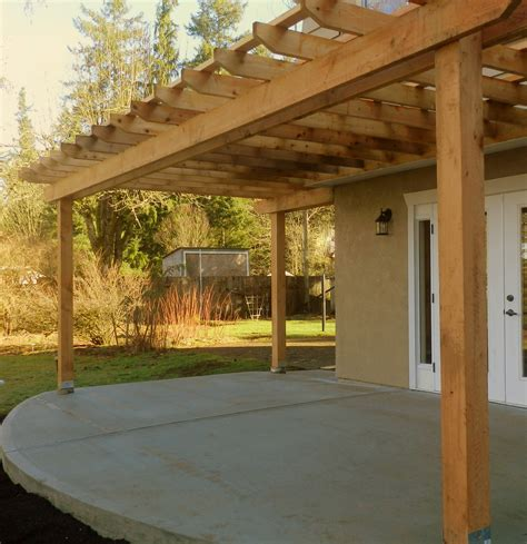how to build a pergola on concrete the three season patio pergolas defined concrete