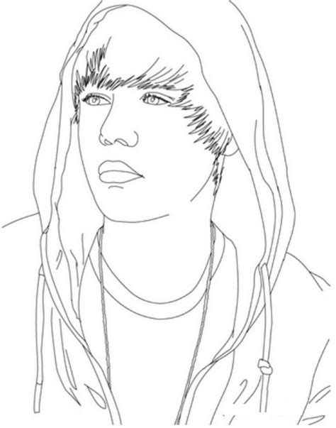 justin bieber coloring pages free printable coloring pages of justin bieber coloring home