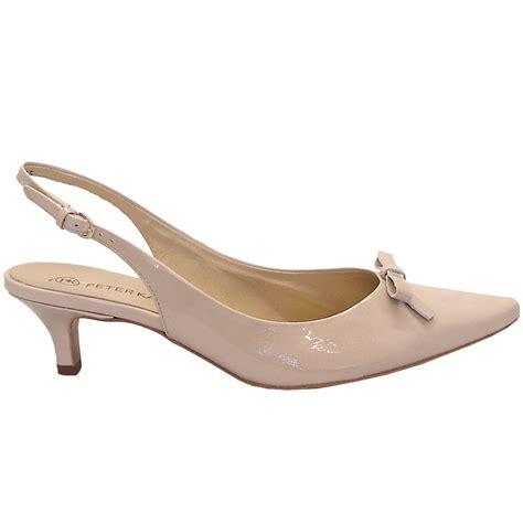 kitten heel shoes rosette patent kitten heel slingback shoes