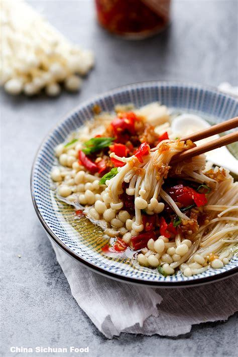 Wonderful Cooking Mushrooms #1: Enoki-mushrooms-steamed-with-garlic_-8-copy.jpg