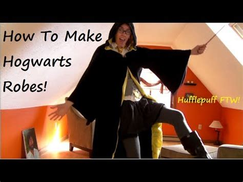 how to make a robe sewing tutorial how to make hogwarts wizard robes