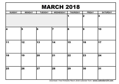 Calendar 2018 January To March March 2018 Calendar April 2018 Calendar