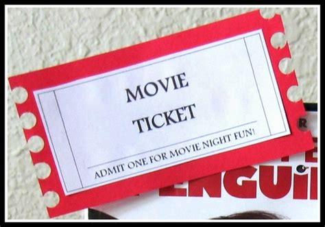 printable online movie tickets printable free movie tickets