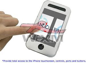 Hp Iphone A1303 coque de protection crystalcase pour apple iphone 3g 1 90 wexim