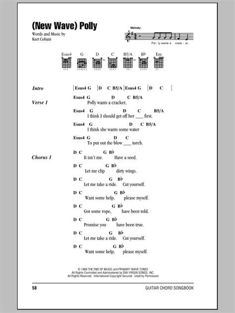 (New Wave) Polly Sheet Music   Nirvana   Guitar Chords/Lyrics