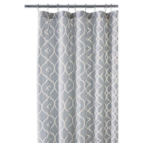 Gray Shower Curtains Coral And Grey Shower Curtain Best Inspiration From Kennebecjetboat