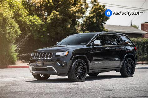 2017 jeep grand cherokee wheels 22 quot lexani wheels wraith gloss black concave rims 2015
