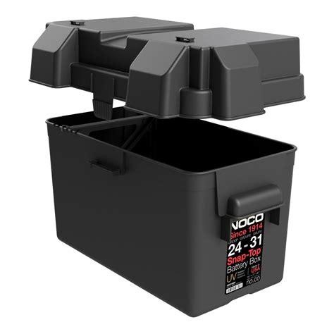 Battery Storage Box noco 24 31 snap top battery box hm318bks