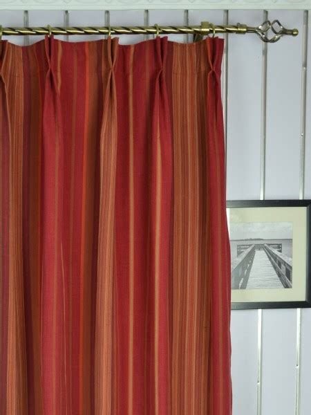 108 inch pinch pleat curtains irregular striped double pinch pleat extra long curtains