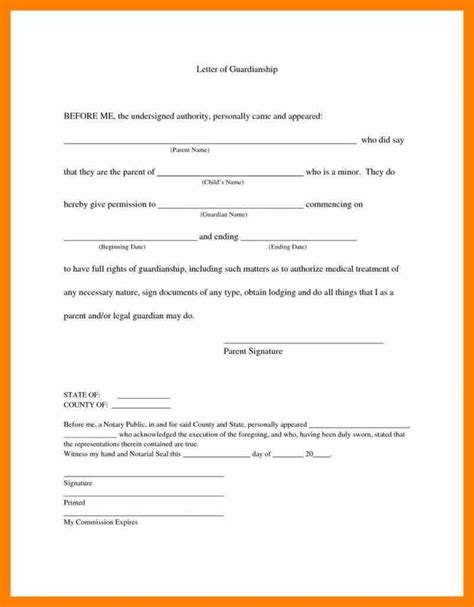 authorization letter minor child travel child travel consent forms free sle exle format