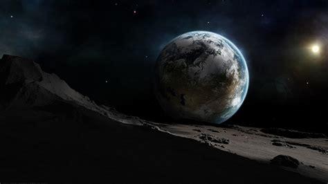 earth moon wallpaper hd desktop earth moon wallpaper wallpaper
