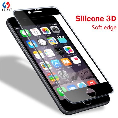 Apple Iphone 7 Plus Tempered Glass Set Clear Beninganti Gores aliexpress buy 3d tpu edge tempered glass for iphone