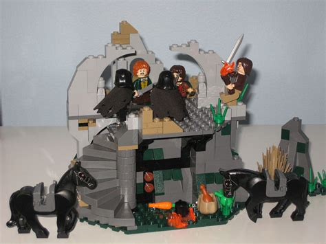 leuke projectiel lord of the rings 9472 attack on weathertop uit the