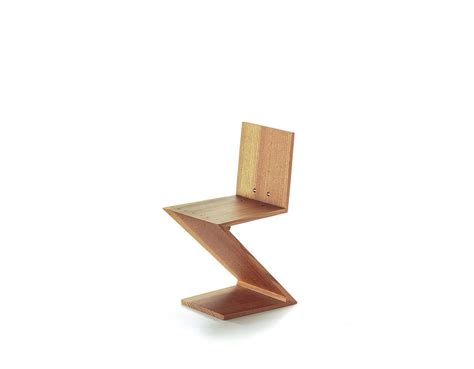 Zig Zag Chair by Miniature Zig Zag Chair Hivemodern