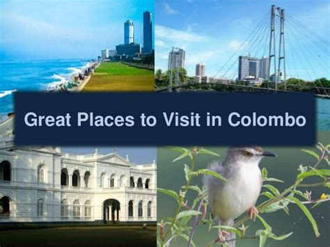 Just Two Fabulous Places To Chill by Great Places To Visit In Colombo