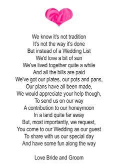 Poems For Wedding Invitation Cards