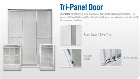 Pin By Bonnie Carpenter On Made In North America Pinterest Tri Panel Shower Door