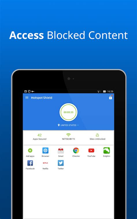 hotspot shield for mobile hotspot shield free vpn proxy android apps on play