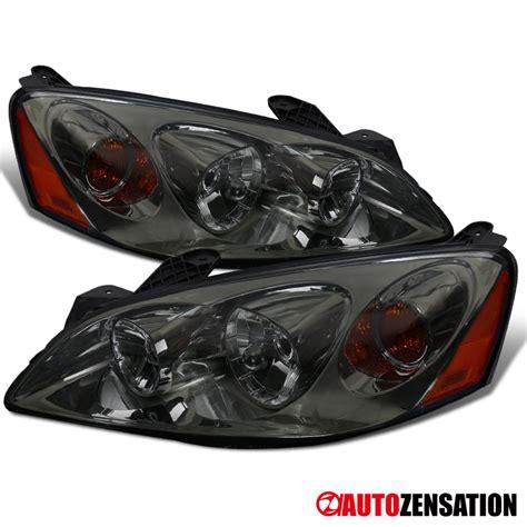 Pontiac G6 Headlight Replacement by 2005 2010 Pontiac G6 Replacement Smoke Headlights Ls W