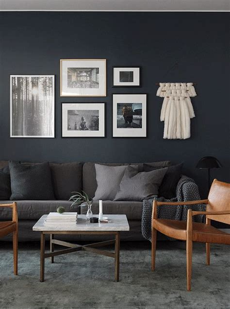 moody black living room home decorating trends homedit