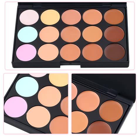 Azone Makeup Brush Set Black Intl 15 color pro makeup concealer camouflage