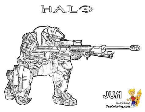 printable halo images free coloring pages of halo 3 drawings