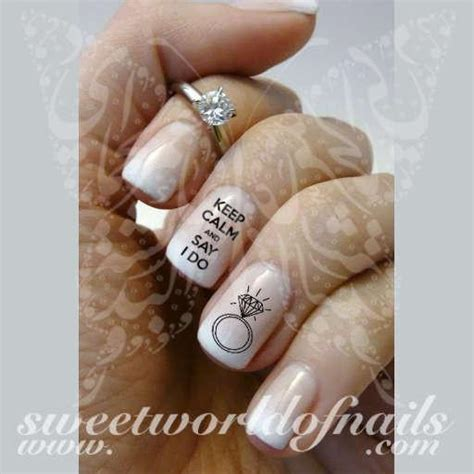 I Do Nail by Wedding Nail