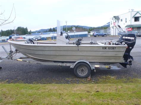 boat props ottawa 16ft welded aluminum jet prop boat outside area smithers