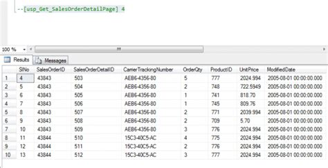 Common Table Expression by Stored Procedure With Common Table Expression Or Cte