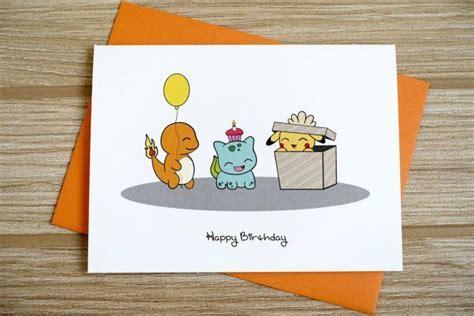 Happy Birthday Surprise Card   Pokemon party   Pokemon