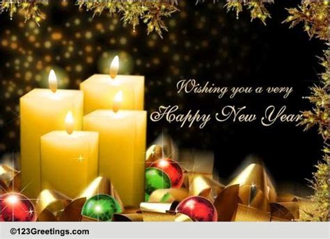 heartfelt  year wishes  happy  year ecards greeting cards