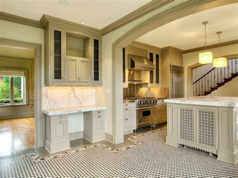 kitchen cabinets gray moldings crown ideas