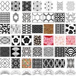 vector japanese patterns