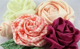 1001 id 233 es comment des fleurs en tissu impressionnantes