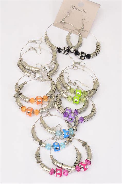 Blouse Atasan Tunik Import Blue Fish Bar Size L 219870 earrings loop silver bead venetian glass mix dz fish