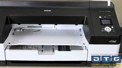 Printer Epson 4900 Inkjet how to set up the epson stylus pro 4900 printer