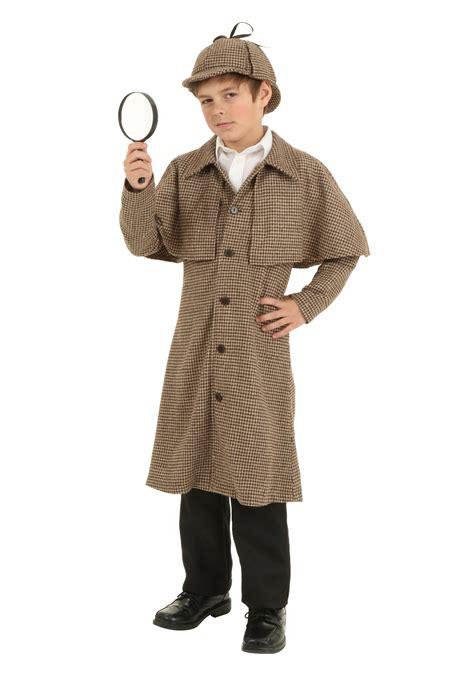 costume for child child sherlock costume