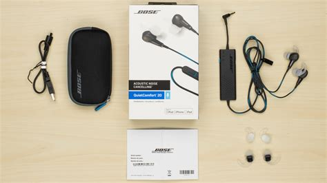 quiet comfort 20 bose quietcomfort 20 qc20 noise cancelling earbuds review