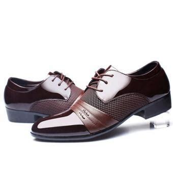 Sepatu Casual Kulit Clemz 01 Brown jual new gaun formal pria sepatu kulit asli sepatu casual