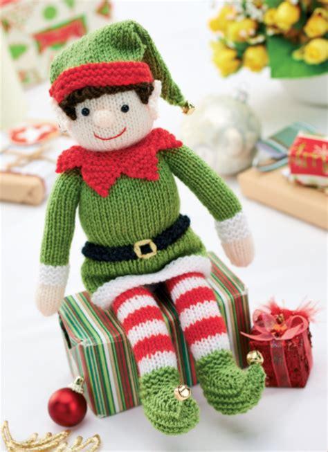 knitting pattern elf bernard and bernadette free christmas elf knitting
